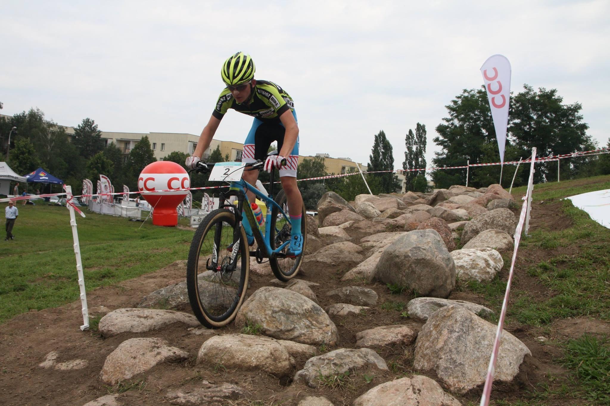 Łukasz Helizanowicz (KCP Elzat Bieniasz Bike) – Ogólnopolska Olimpiada Młodzieży, Warszawa