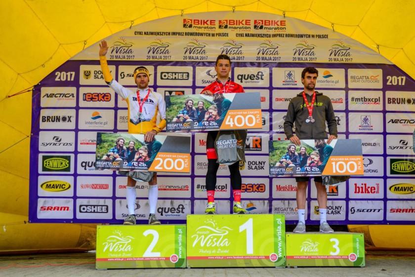Tomasz Dygacz drugi na Bike Maraton w Wiśle