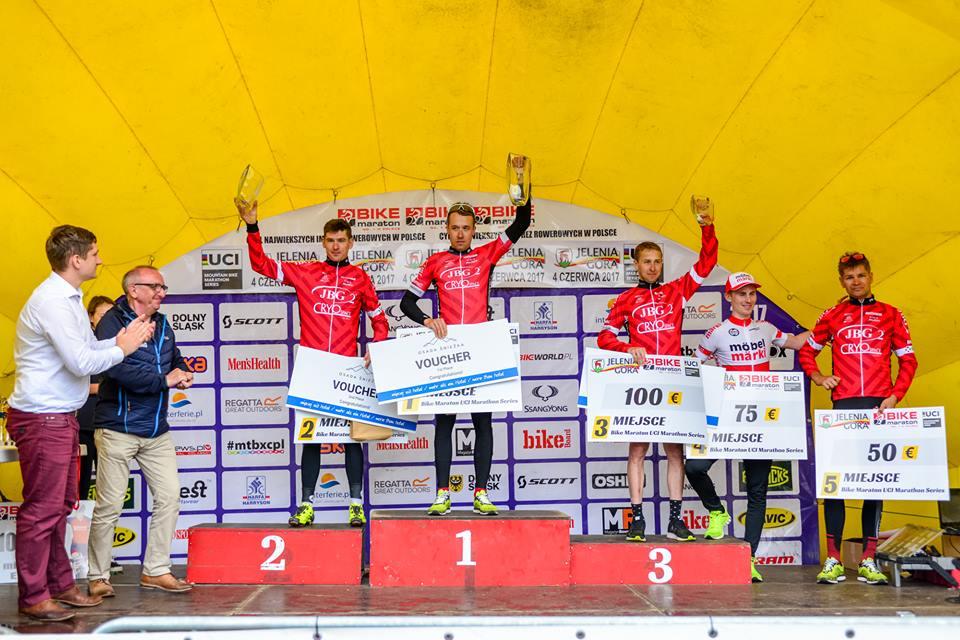 UCI Marathon Series – Bike Maraton Jelenia Góra dla Brzózki i Neff