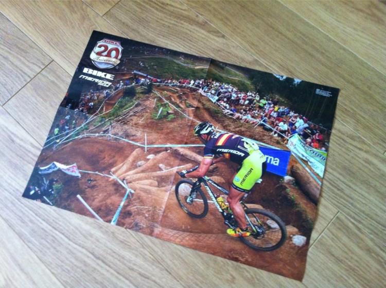 Jose Hermida w Bike Magazine