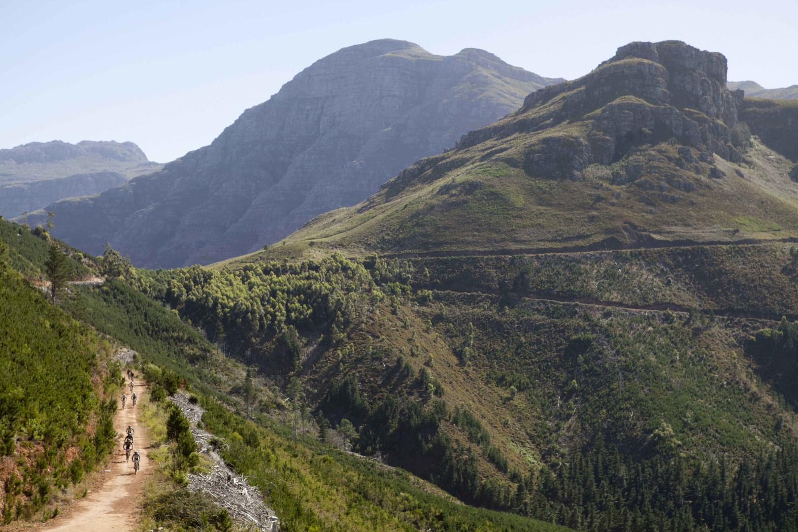 Absa Cape Epic 2013 Stage 7 Stellenbosch to Somerset West