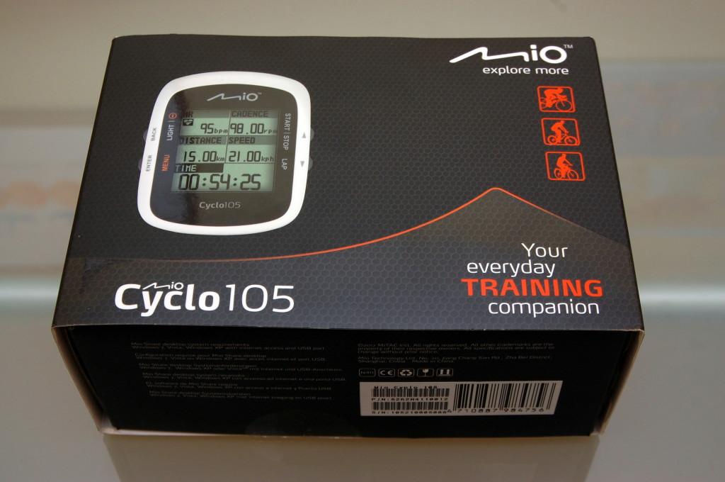 Mio cyclo 105 pudełko