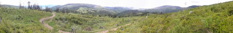 beskidy mtb trophy panorama
