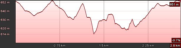 Profil rundy Górale na start w Boguszowie Gorcach