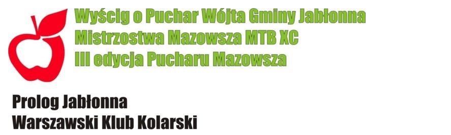 prolog jabłonna warszawski klub kolarski puchar mazowsza