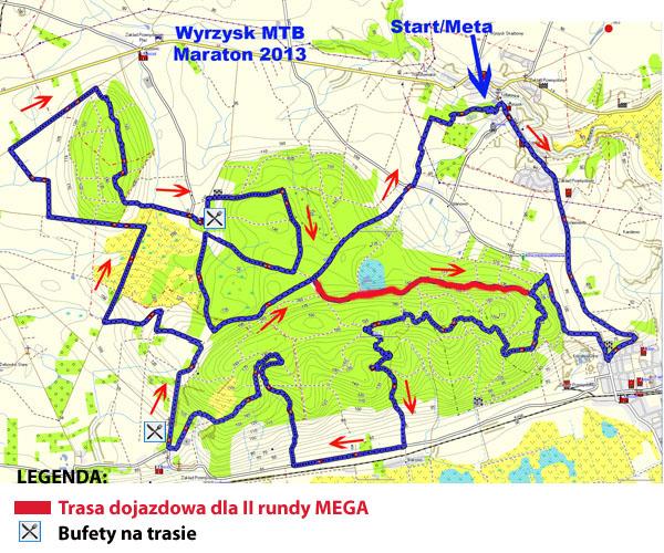 wyrzysk mtb maraton trasa