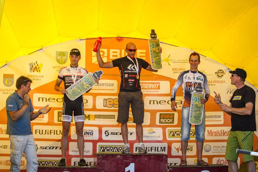 bike maraton podium bogdan czarnota marcin piecuch bartosz janowski wroclaw