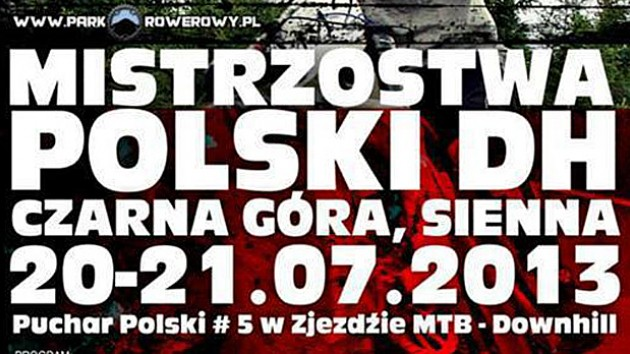mistrzostwa polski dh czarna gora park rowerowy