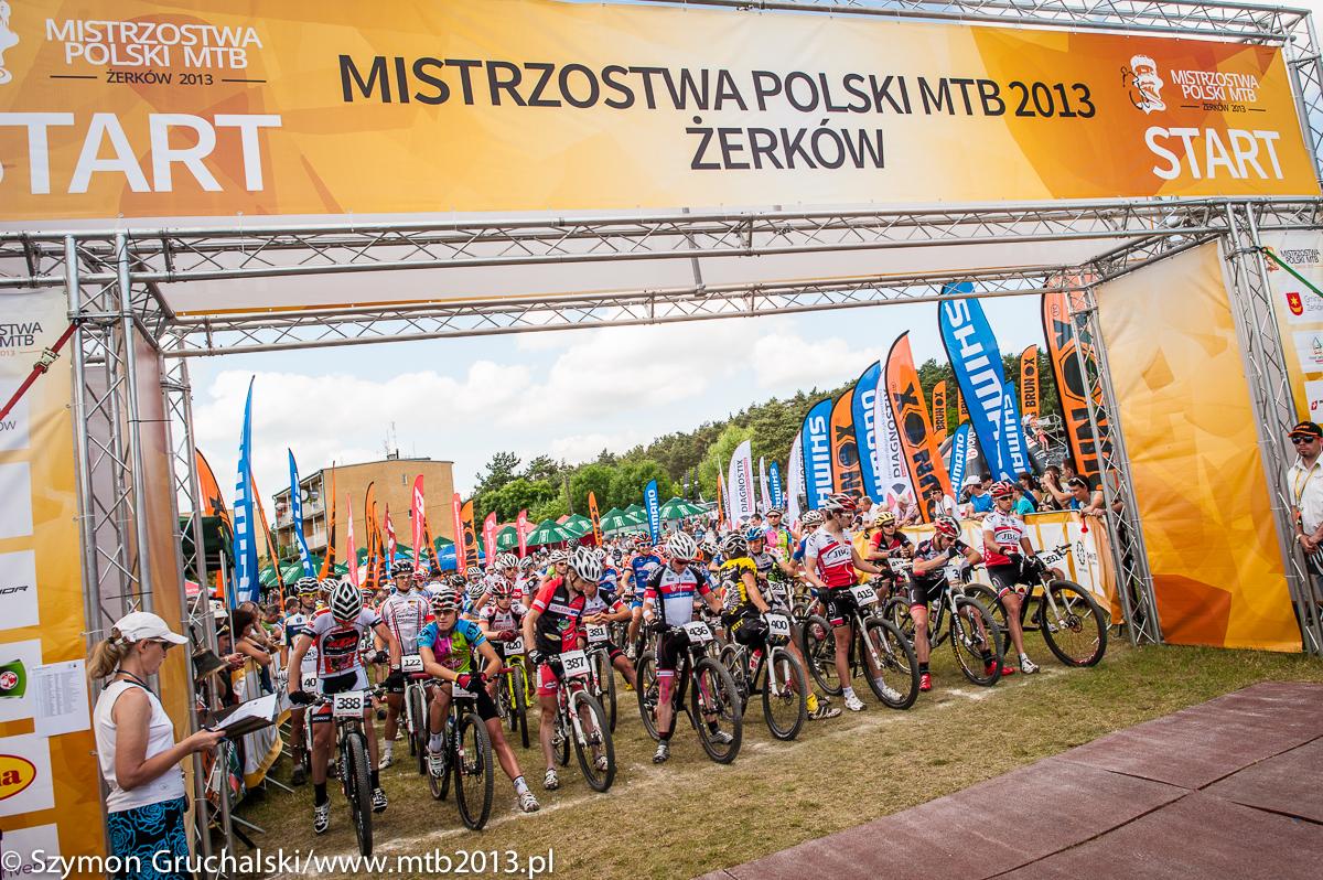 mistrzostwa polski w kolarstwie gorskim zerkow 2013