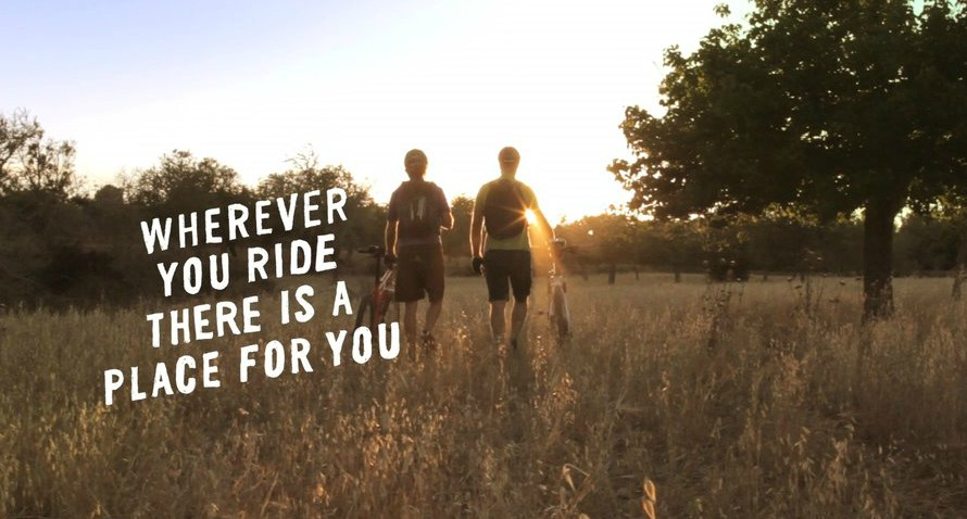 Wherever you ride there's a place for you [wideo]