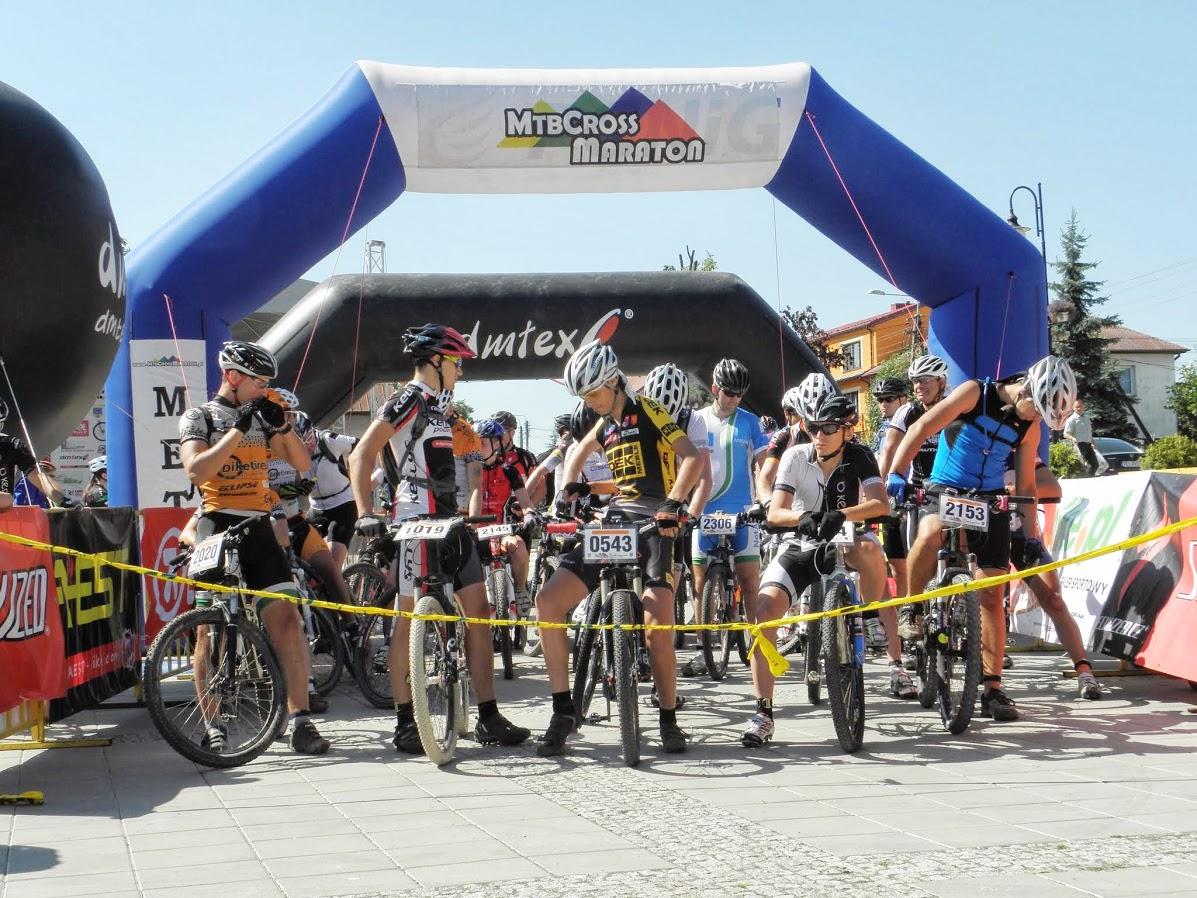 świętokrzyski maraton etapowy – krzyżtopów – trzeci etap – start