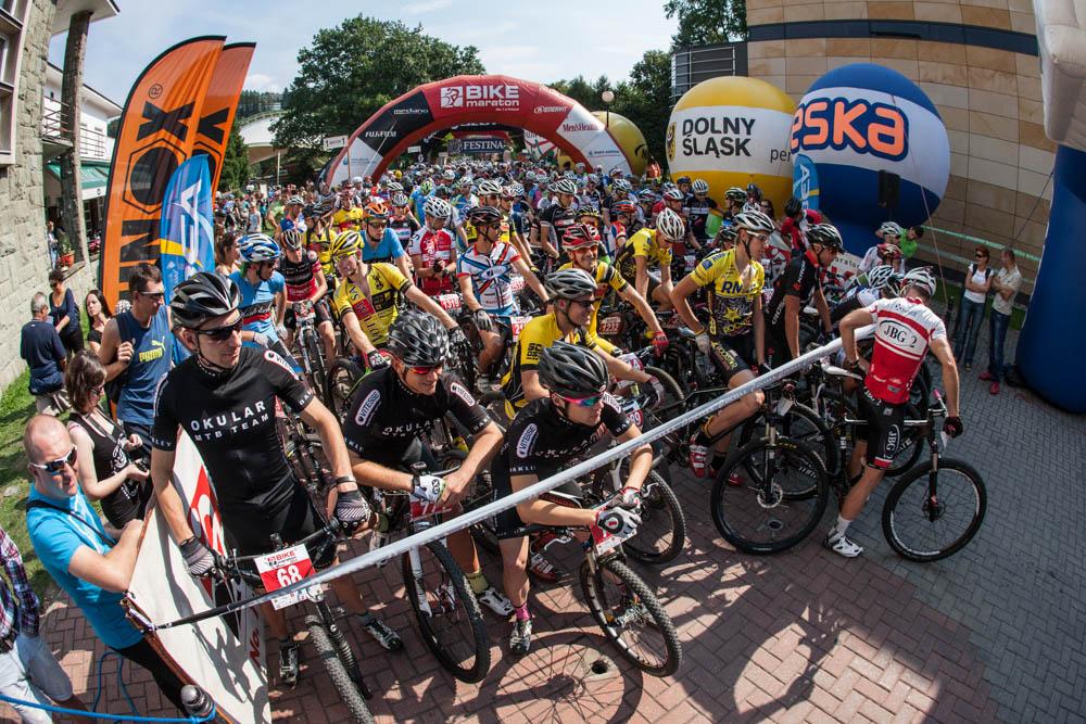 Bike Maraton Wisła 2013 Adrian Brzózka