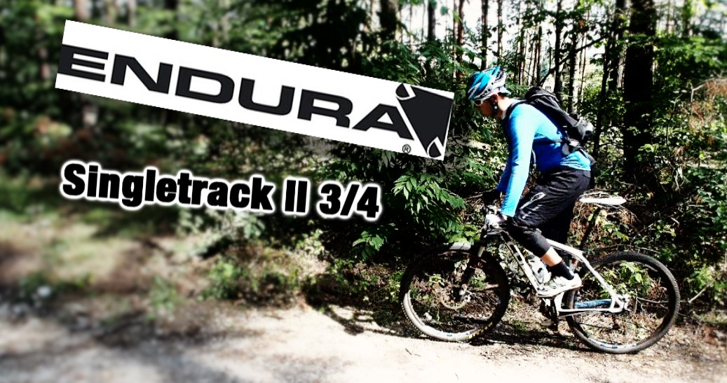 Szorty Endura Singletrack II 3/4