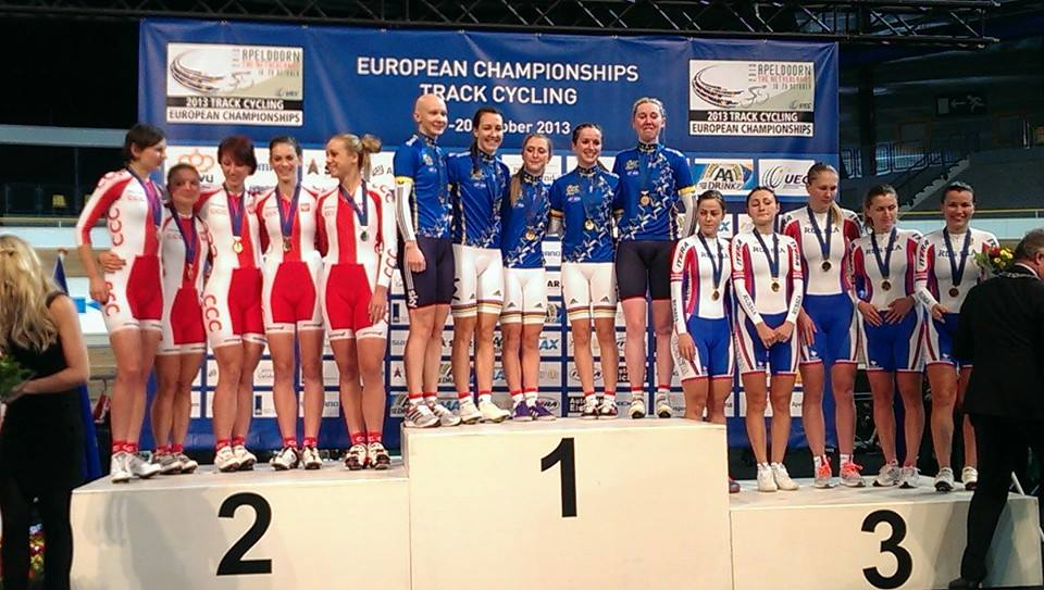 reprezentacja polski w kolarstwie torowym kobiet mistrzostwa europy w kolarstwie torowym 2013 apeldoorn