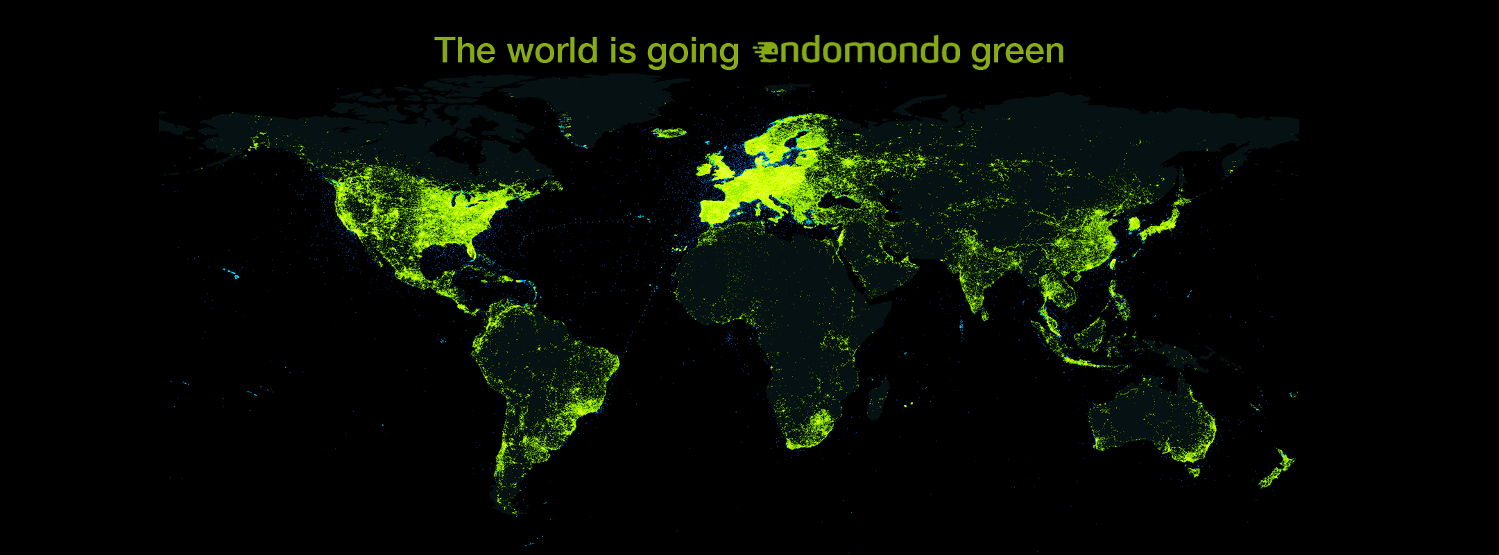 the world is going endomondo green