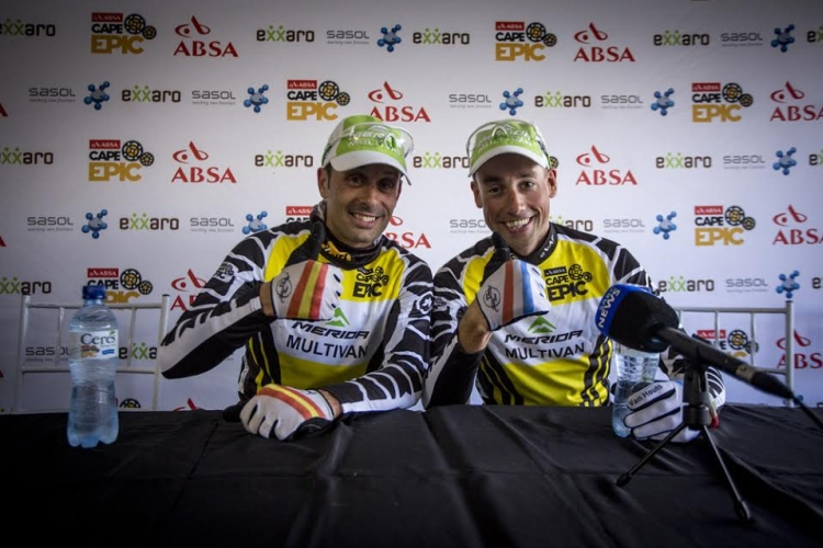 Prolog ABSA Cape Epic dla Merida Multivan!