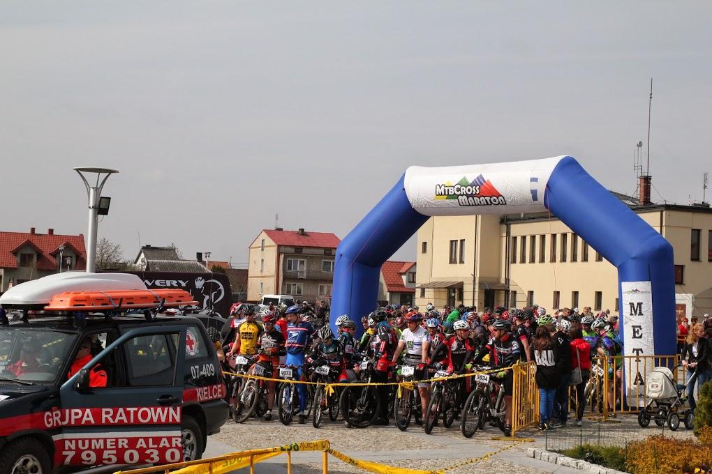 śłr mtb cross maraton – daleszyce 2014 – W oczekiwaniu na start