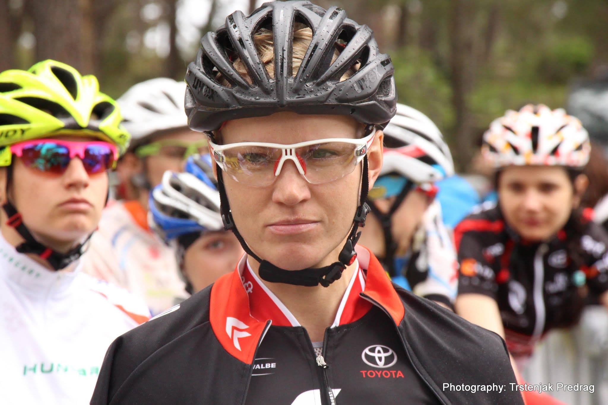 anna szafraniec kross racing team pramentura xco 2014