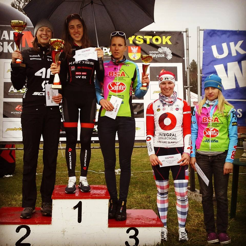 katarzyna solus miśkowicz monika żur stefania staszel marta turoboś aleksandra podgórska puchar polski xco rusza peleton białystok kross racing team 4f sante bsa whistle integral collections
