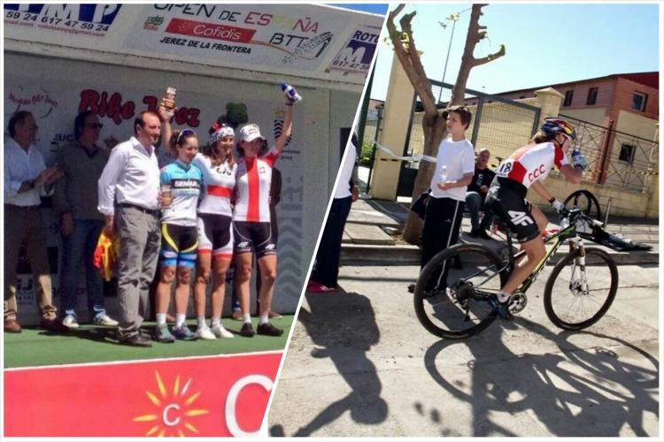 paula gorycka 4f racing team maja włoszczowska liv giant pro xc puchar hiszpaniii