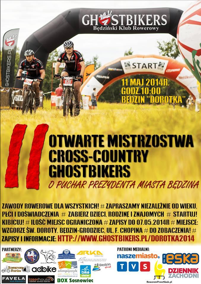 otwarte mistrzostwa cross country shostbikers będzin