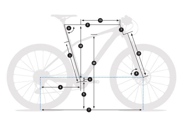 rama orbea alma 27.5 29 frameset geometria