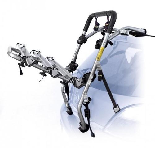 bagażnik na klapę na trzy rowery