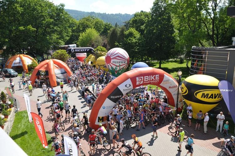 bike maraton wisła start