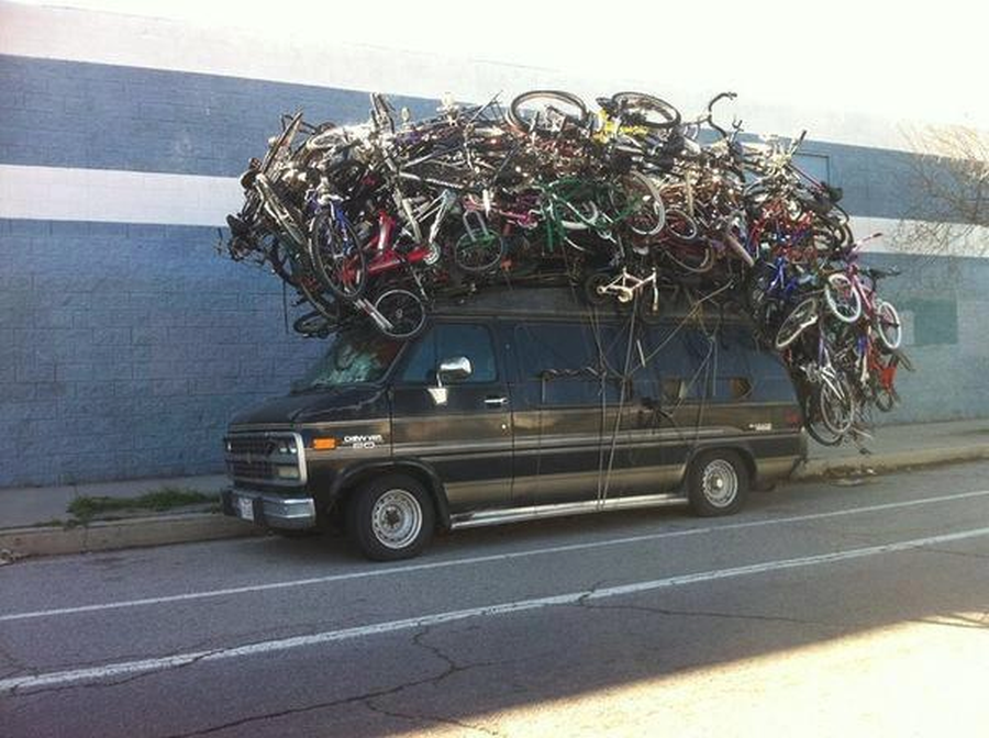 Jak przewozić rower samochodem?