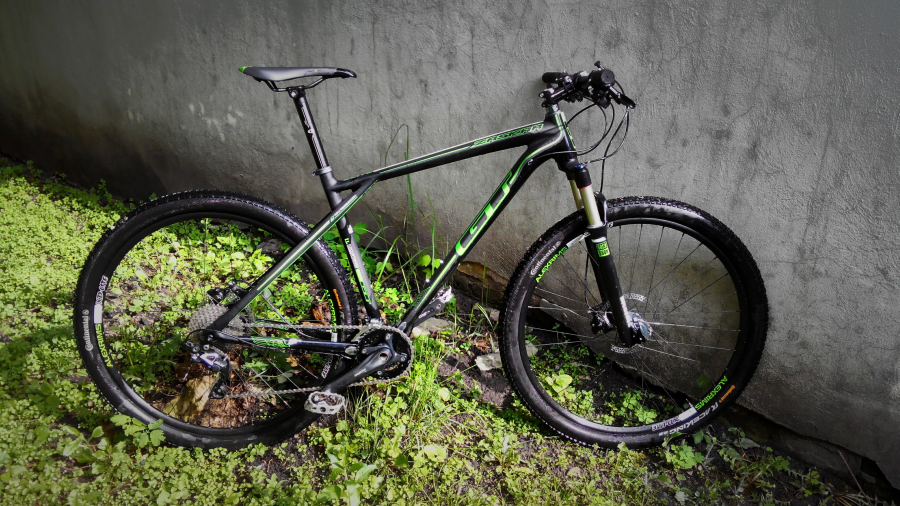 gt zaskar 9er carbon elite 2014