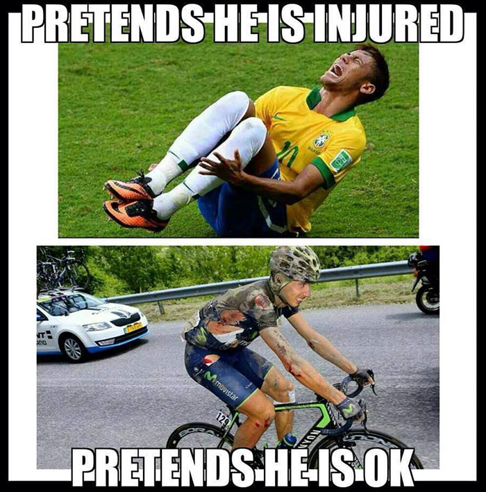 pretends-football-cycling