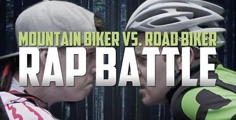 Rap Battle: Mountain Biker vs. Road Biker [wideo]