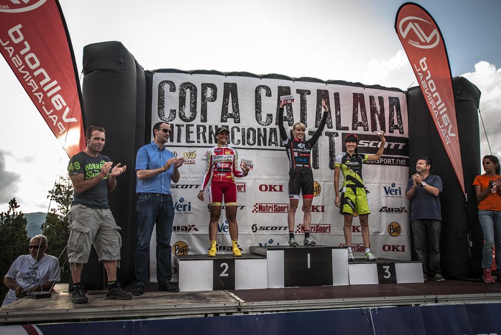 anna szafraniec kross racing team copa catalana andora vallnord podium