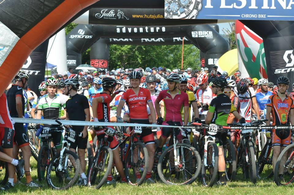 bike maraton bielawa 2014 start
