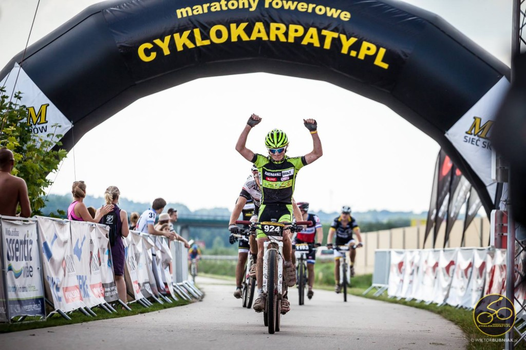 Albert Głowa KCP Elzat Regamet BIENIASZ Bike TEAM  cyklokarpaty wojnicz