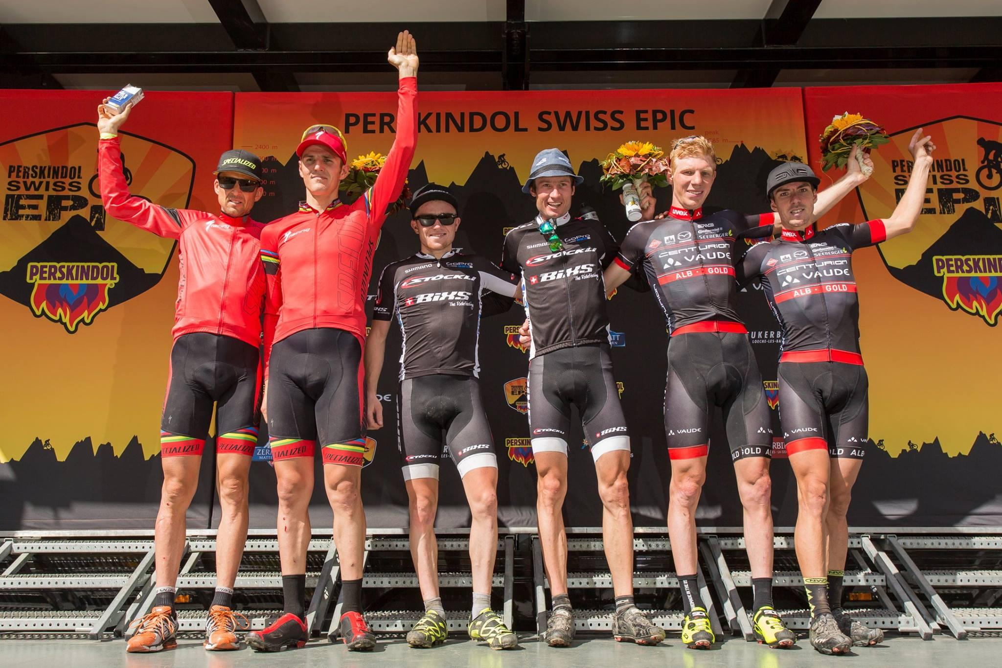 Perskindol Swiss Epic 2014 – ETAP 1