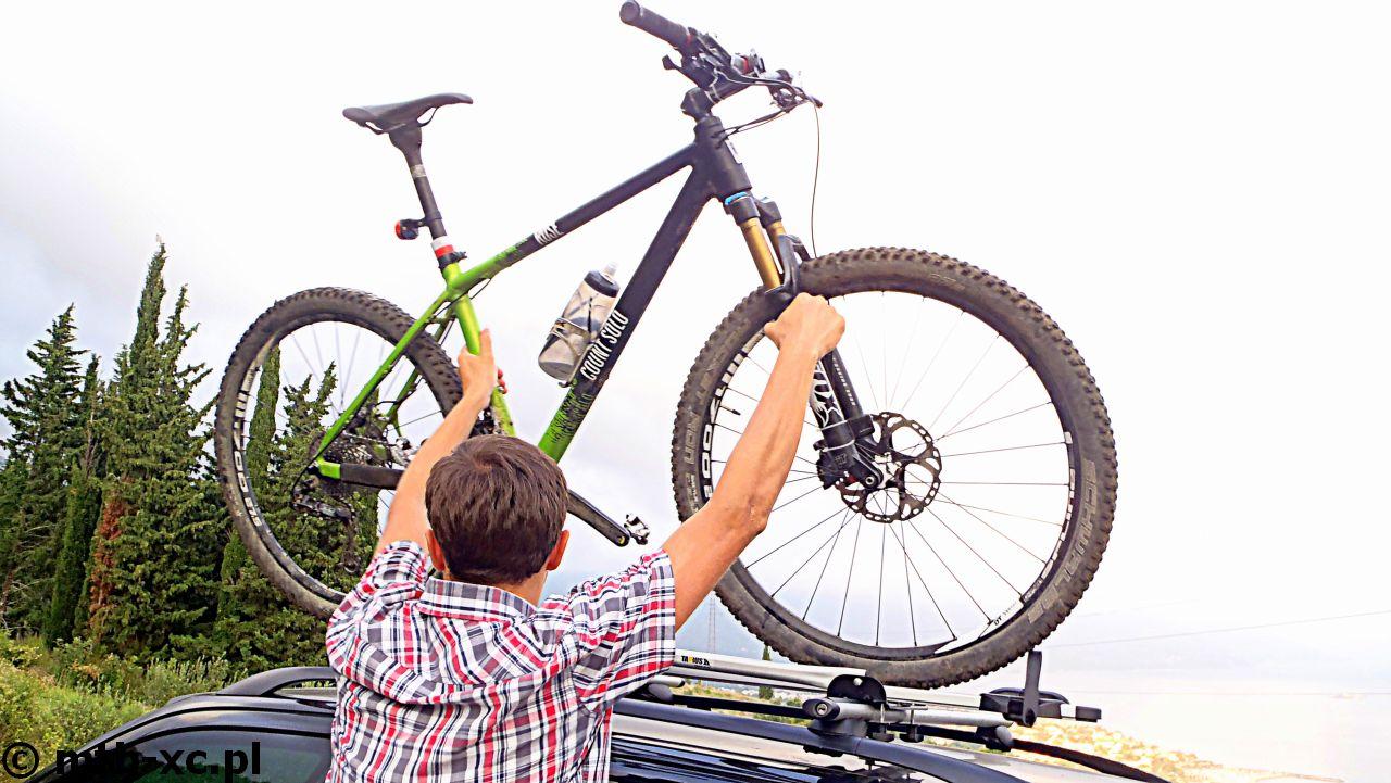 Bagażnik Taurus BikeUp Rower Rose Count Solo