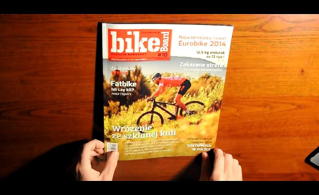Magazyn Bikeboard 10/2014 – recenzja [wideo]