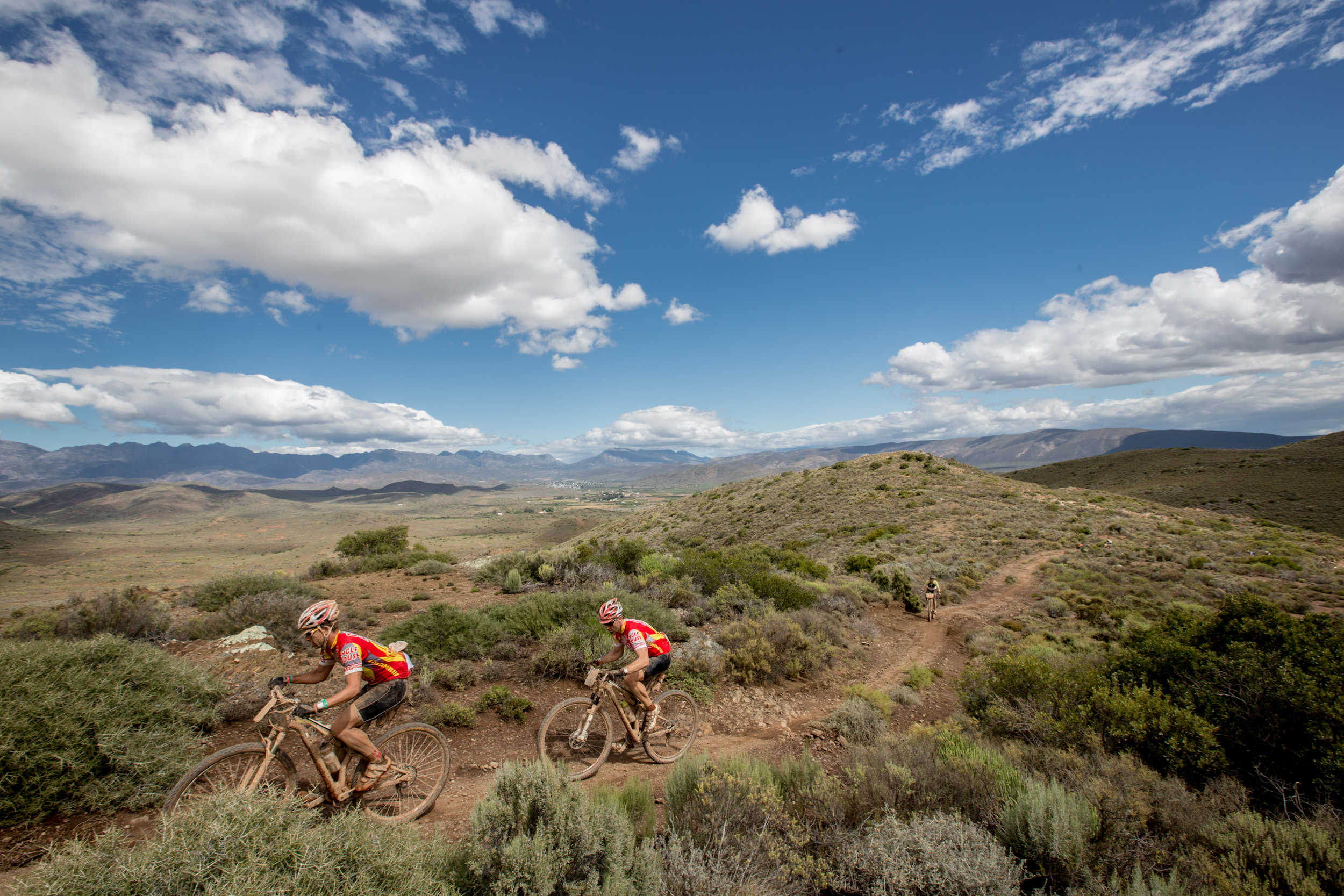 Absa Cape Epic 2014 Stage 2 Robertson