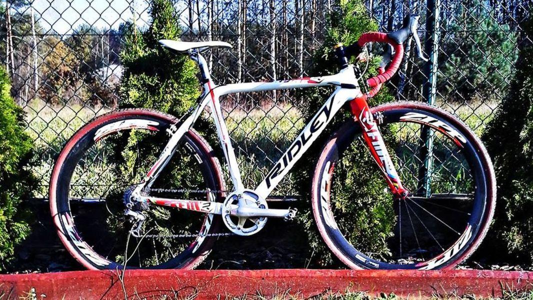 Rower przełajowy Ridley X-fire Marty Turoboś