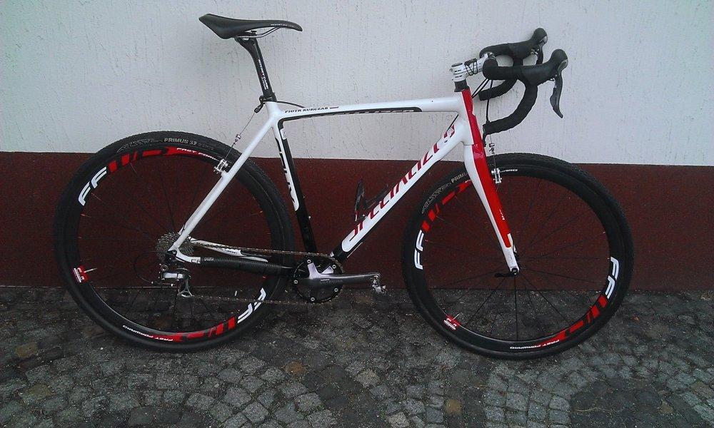 Rower przełajowy Specialized Crux Piotra Kurczaba