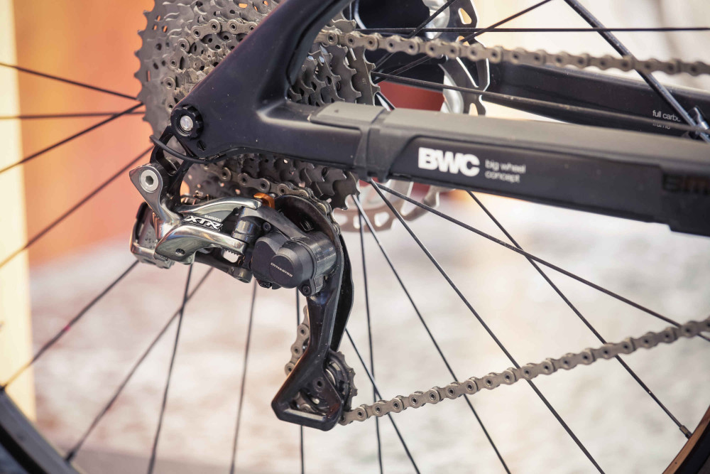 BMC trailfox TF 01 z osprzętem Shimano XTR Di2 05 (mat. pras.)