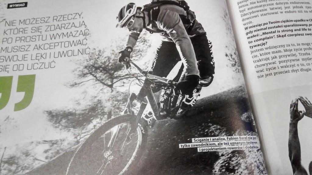magazyn bike numer 3 marzec 2015 fabien barel