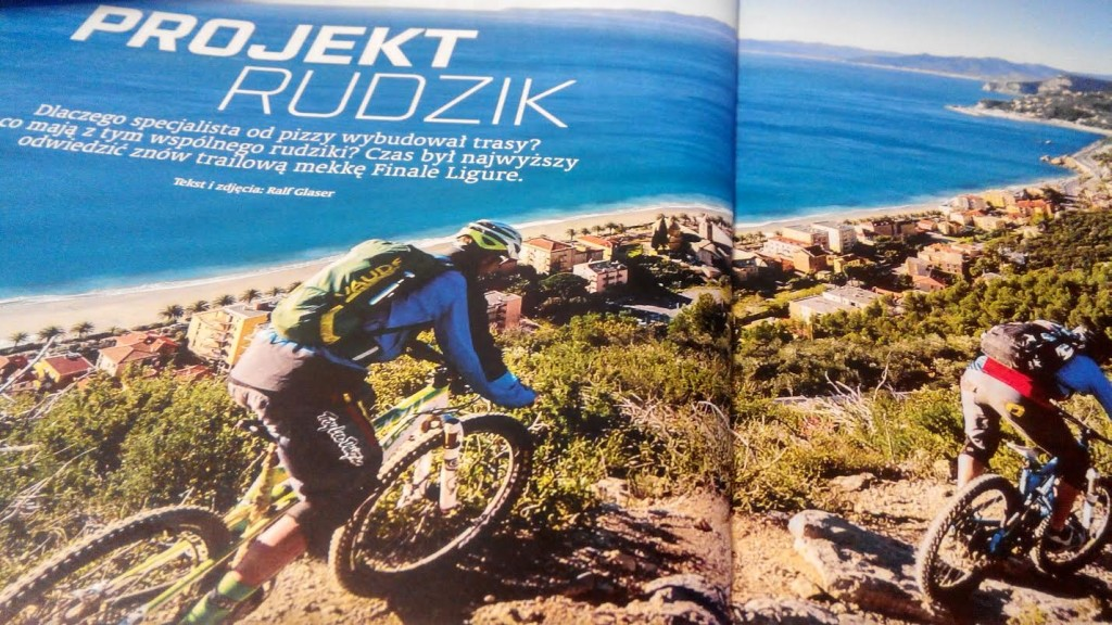 magazyn bike numer 3 marzec 2015 projekt rudzik finale ligure