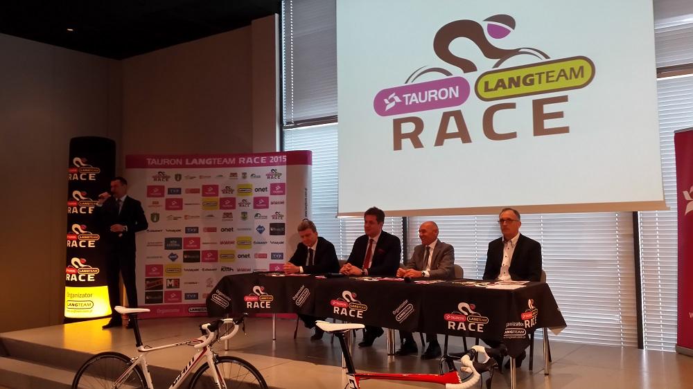konferencja prasowa lang team tauron race czesław lang wacław skarul