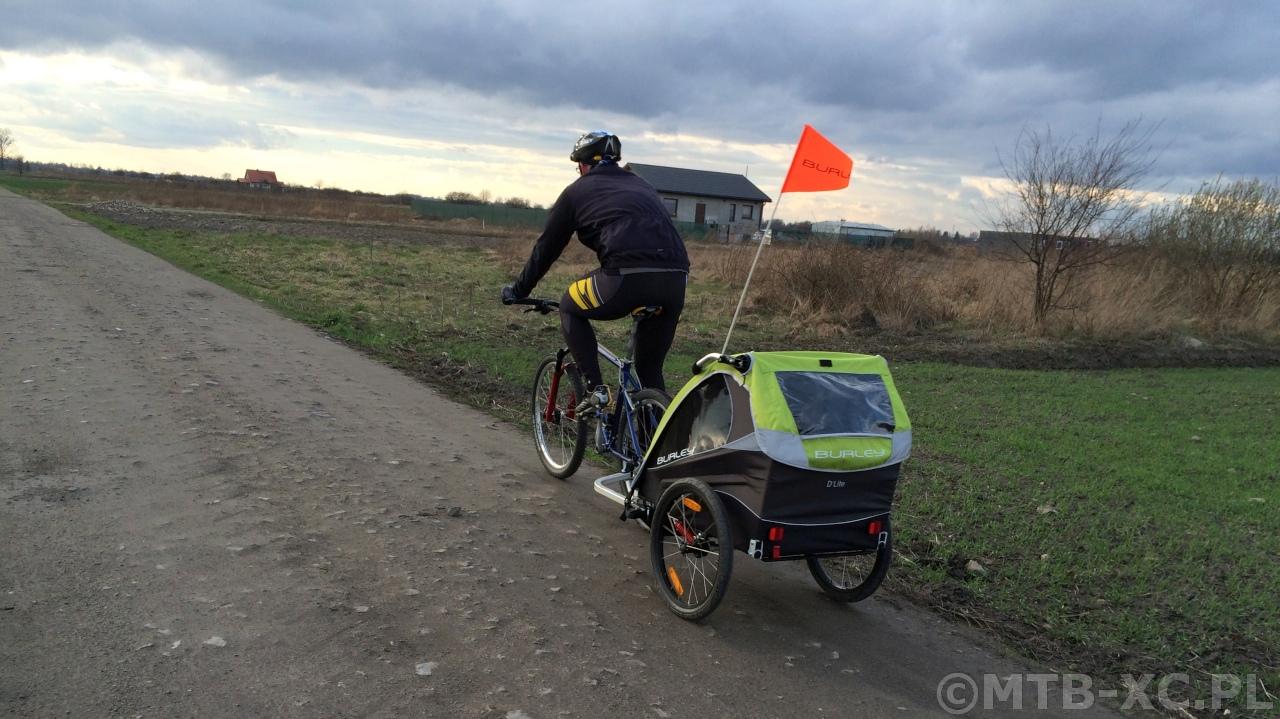 Przyczepka rowerowa Burley D'Lite