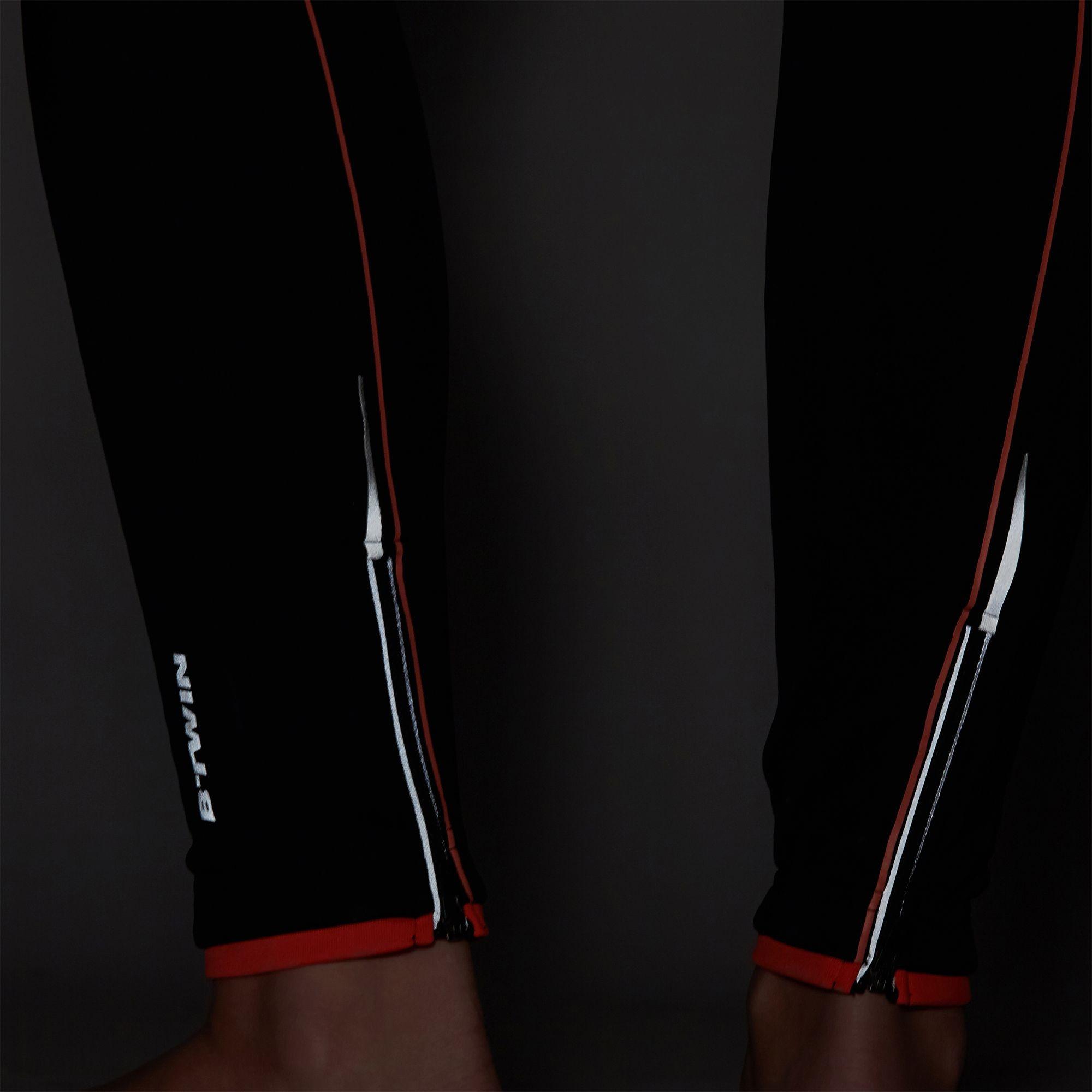spodnie BTWIN 700 odblaski