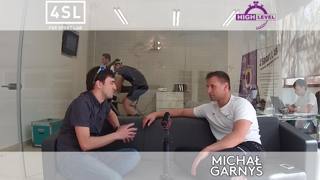 Rozmowa z Michałem Garnysem // 4 Sport lab // High Level Center [wideo]