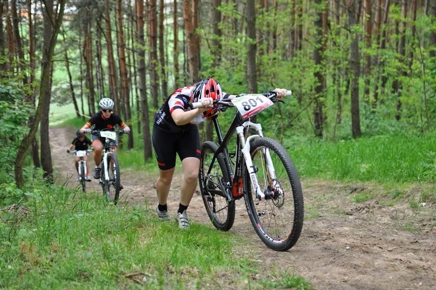 Marta Mikołajczyk (Crazy Racing Team) – Hurom MTB Series 2015 – Pniewy