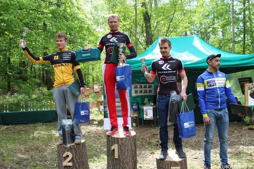 Marcin Szafrański (Kross Centrum Rowerowe Olsztyn) – Wyścig o Puchar Nadleśnictwa – Mrągowo